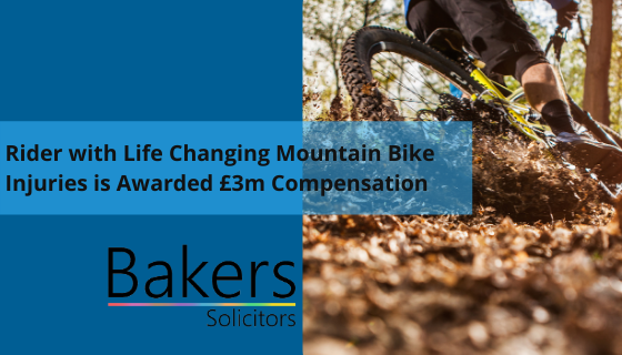 Rider with Life Changing Mountain Bike Injuries is Awarded £3m Compensation